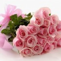 Kytica jemných ružových ruží