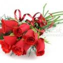 Kytica červených ruží