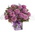 Kytica fialových ruží