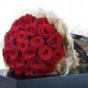 Luxusná svadobná kytica z ruží