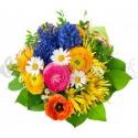 Kytica farebný mix kvetov